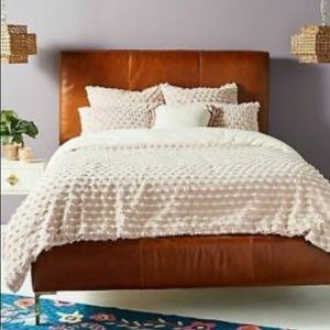 Anthropologie Mareika Pink Duvet Cover